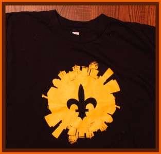 New Orleans Saints NFL Football Long Sleeve T Shirt XL