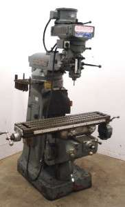 Well Settings 9x42 Vertical Milling Machine 2 HP Motor
