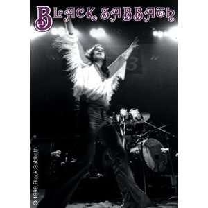 BLACK SABBATH OZZY LIVE STICKER