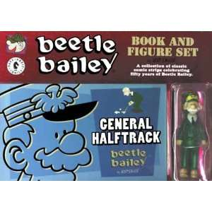 Beetle Bailey General Halftrack Book and Figure Set Toys