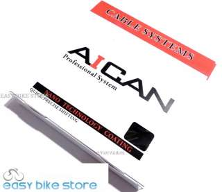 NEW AICAN MTB Road Bike SHIFT 4mm Cable Systems RED