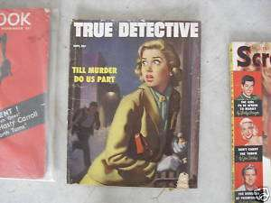 Vintage September 1953 True Detective Magazine LOOK