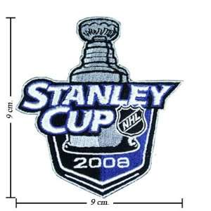 NHL Stanley Cup Playoffs 2008 Logo Iron On Patches