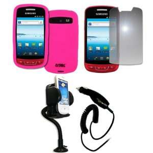 EMPIRE Samsung Admire R720 Hot Pink Silicone Skin Case