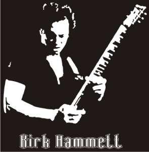 Kirk Hammett Metallica Decal Sticker   Car Truck Laptop