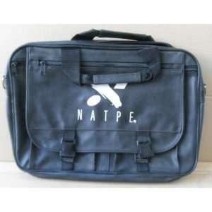 Natpe Black Messenger Bag Briefcase   16 1/2 inches x 12