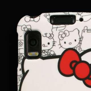 Case for Motorola ATRIX 4G Hello Kitty Cover Snap Clip
