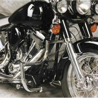 Lindby Linbar Engine Guards HD Softail Deluxe FLSTN