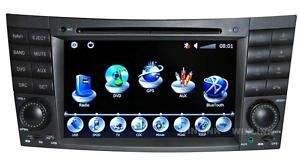 MERCEDES BENZ CLS W211 Car HD DVD player GPS Navigation
