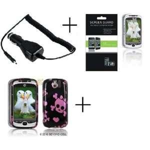 HTC MYTOUCH SLIDE 3G Pink Cuttie Premium Designer Hard Protector Case