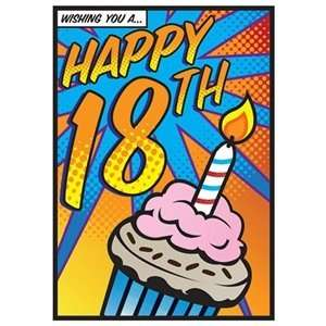 Wishing You A Happy 18th Birthday Card: Toys & Games