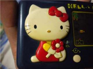 VINTAGE SANRIO TOMY HELLO KITTY LCD GAME VERY RARES