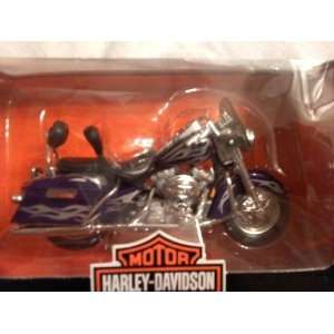 Harley Davidson Screaming Eagle Road King, Purple with Silver Flames