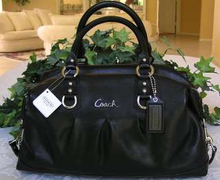 COACH ASHLEY LARGE LEATHER SATCHEL BAG PURSE 15447 NWT