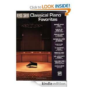 10 for 10 Sheet Music Classical Piano Favorites Piano Solos [Kindle