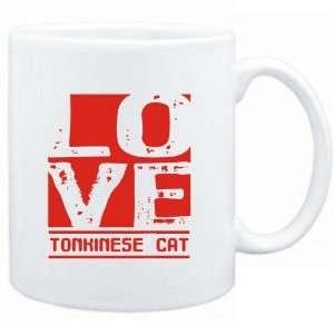 Mug White  LOVE Tonkinese  Cats