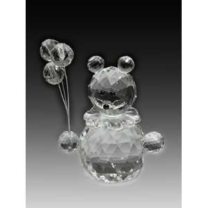 Asfour Crystal Bear With Balloons Toys & Games
