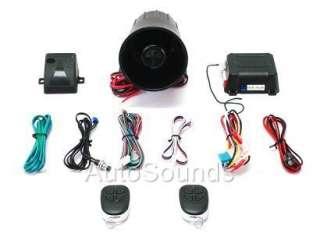 ScyTek G20 Keyless Entry Car Alarm System w/ 2 Remotes
