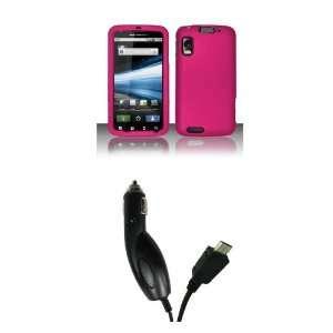 Motorola Atrix 4G (AT&T) Premium Combo Pack   Rose Pink Hard
