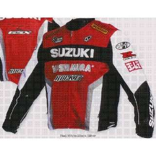 JOE ROCKET SUZUKI REPLICA MESH JACKET RED 5XL Automotive