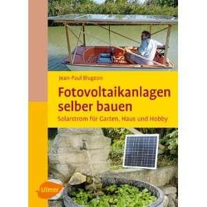 selber bauen (9783800176199) Jean Paul Blugeon Books