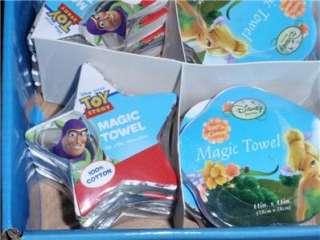 DiSNeY MAGIC TOWEL CARS BUZZ ARIEL TINKER BELL MICKEY