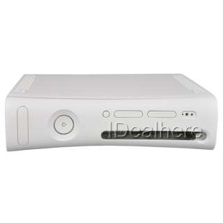 Full Housing Shell Case White for Xbox360 Console