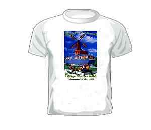 Vintage Travel Trailer T shirt Buellton 1st Annual Vintage Bash