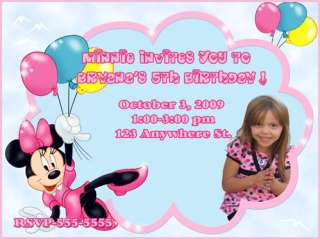 MICKEY MOUSE CLUBHOUSE BiRtHdAy INVITATIONS Party