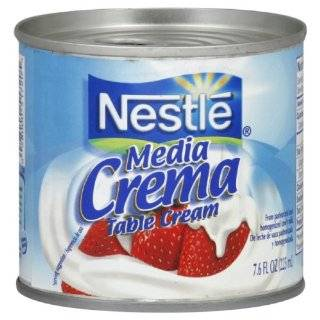 Nestle Media Crema Table Cream, 7.6 Ounce Containers (Pack of 24)