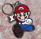 Super Mario Bros MOVIE Game Plastic Key Chain KeyRing