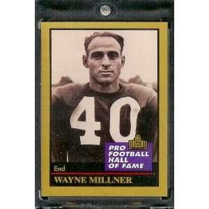 1991 ENOR Wayne Millner Football Hall of Fame Card #99