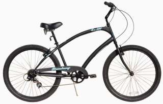 New 26 7 SPEED beach cruiser bicycle bike Large Size