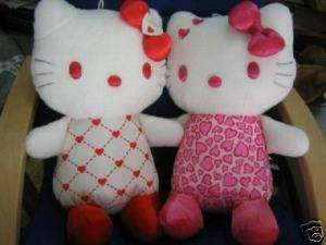 LARGE VALENTINES DAY  One BIG KITTY HEART Plush from Japan ship free