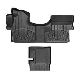 2007 2011 Mercedes Benz Sprinter [Cargo] Black WeatherTech Floor Liner