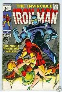 Iron Man #14 Johnny Craig art 1969