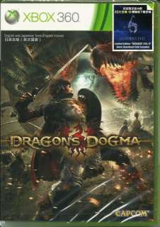 DRAGONS DOGMA XBOX 360 NEW SEALED GAME + BONUS RESIDENT EVIL 6 DEMO