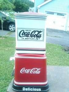 Victor V *Coca Cola* Gumball Candy Peanut machine man cave gameroom