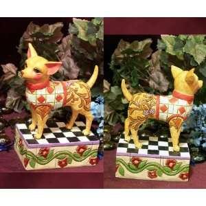 Jim Shore Chihuahua Statue Figurine