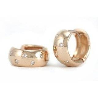 18k Rose Gold Hoop Earrings   JewelryWeb Jewelry