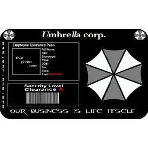 Resident Evil ID Card Umbrella Corp: Office Products