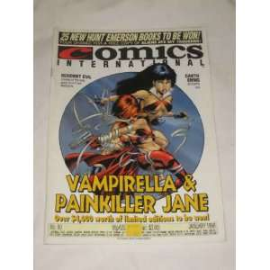 International Magazine January 1998 #90 Vampirella Painkiller Jane