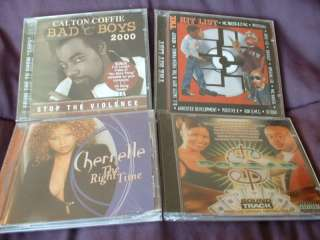 Lot of 7 RAP, HIP HOP, R&B CDs   GREAT MUSIC SEALED