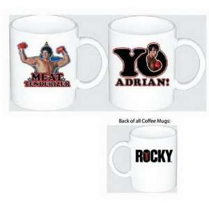 Officially Licensed Rocky Bubble Letter Coffee Mug