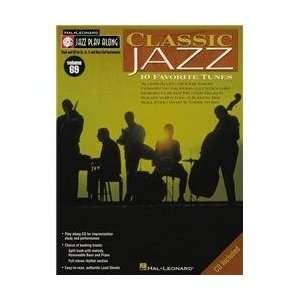 Hal Leonard Classic Jazz   Jazz Play Along Volume 69 Book
