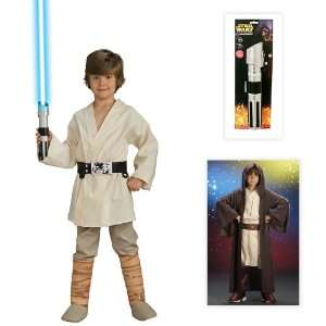 Star Wars Luke Skywalker Deluxe Child Costume including