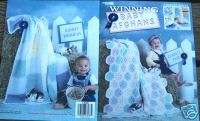 Leisure Arts WINNING BABY AFGHANS crochet book |