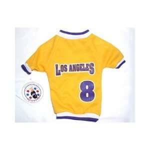 Sports Enthusiast Los Angeles #38 Baseball Mesh Dog Jersey