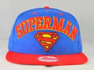 DC COMIC NEW ERA SUPERMAN ARCHED 9FIFY SNAPBACK CAP |