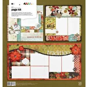 BasicGrey Jovial Page Kit Arts, Crafts & Sewing